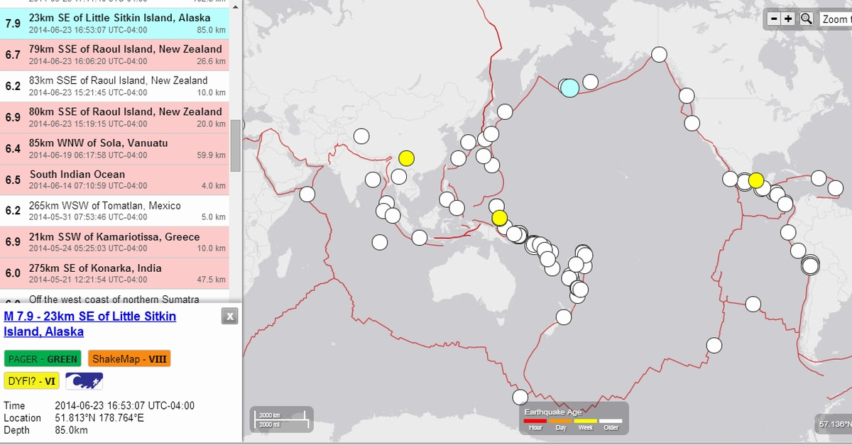 Are Earthquakes Causing Global Climate Change
