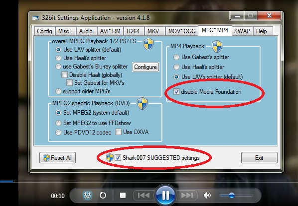 Windows Media Player Crashes Playing MP4 Files (Solved)